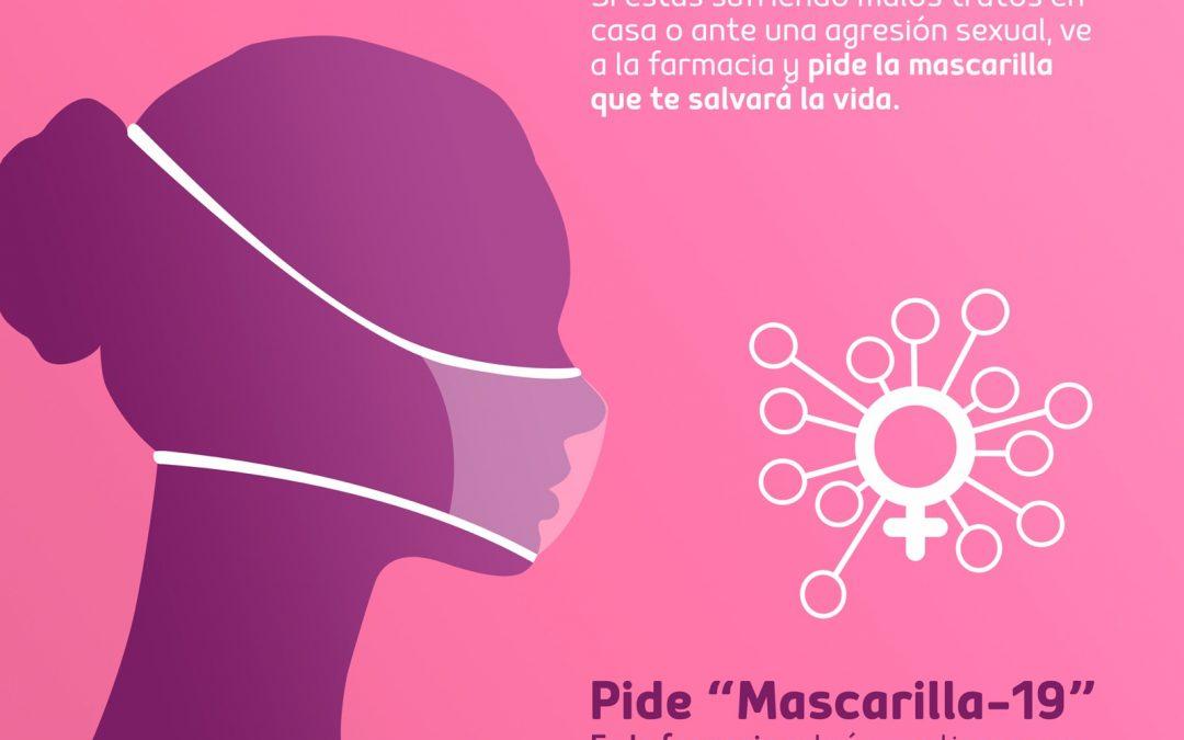 'Mascarilla-19', la alerta clave para las víctimas de la violencia machista